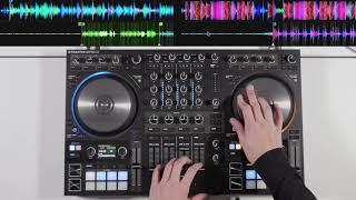 Traktor Kontrol S4 MK3 - Drum & Bass DJ Mix - #SundayDJSkills