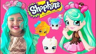 Peppa Mint Makeup Halloween Costumes and Toys Shopkins Season 9