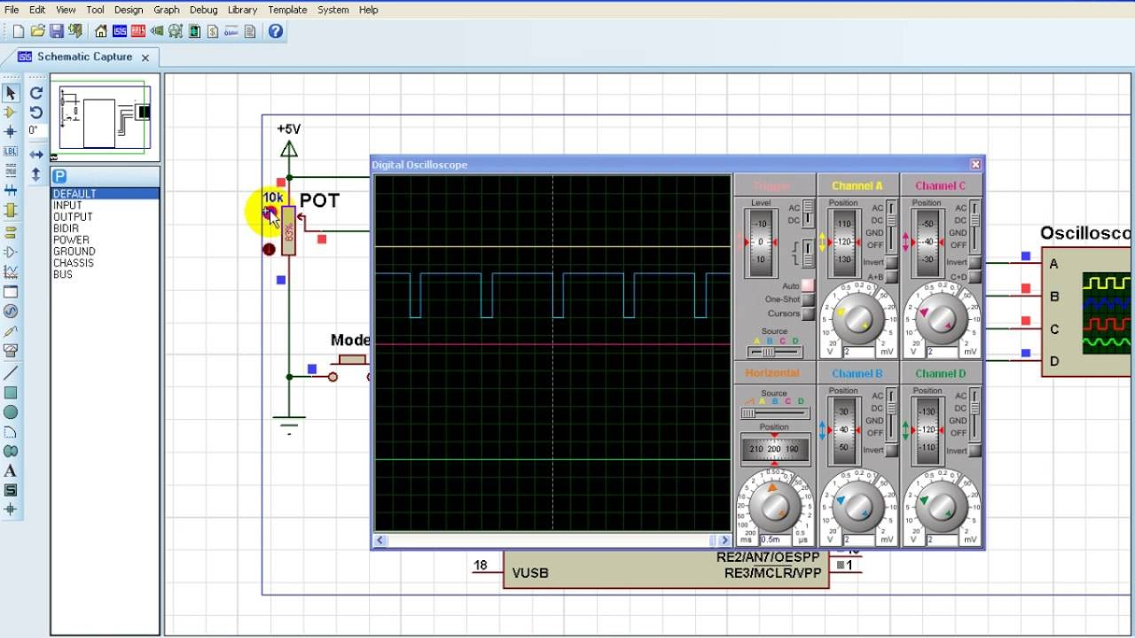 PIC18F4550 full bridge PWM mode example with CCS PIC C