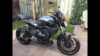 Yamaha MT 07 Modifications
