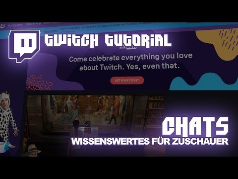 Twitch.tv Anleitung Chat | Deutsch | Twitch-Tutorial #02