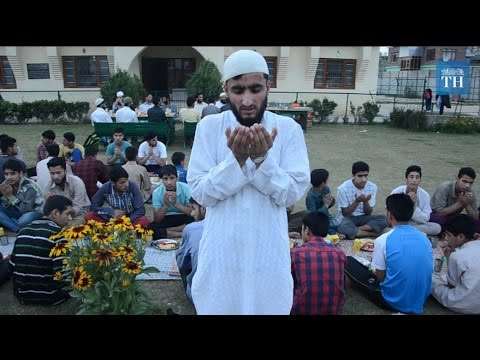 A day in Kashmir valley during Ramzan