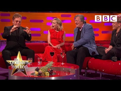 Eminem gave Elton john an unusual wedding gift – The Graham Norton Show: 2017 – BBC One