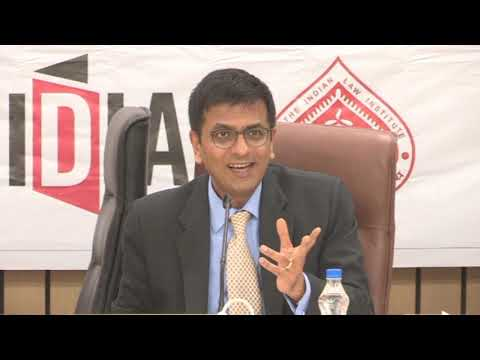 Q & A Session with Honourable Justice DY Chandrachud | IDIA Annual Conference 2018
