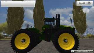 John Deere 9630 Tractor Mod for Farming Simulator 2013