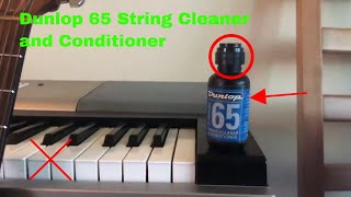 ✅ How To Use Dunlop 65 String Cleaner and Conditioner Review