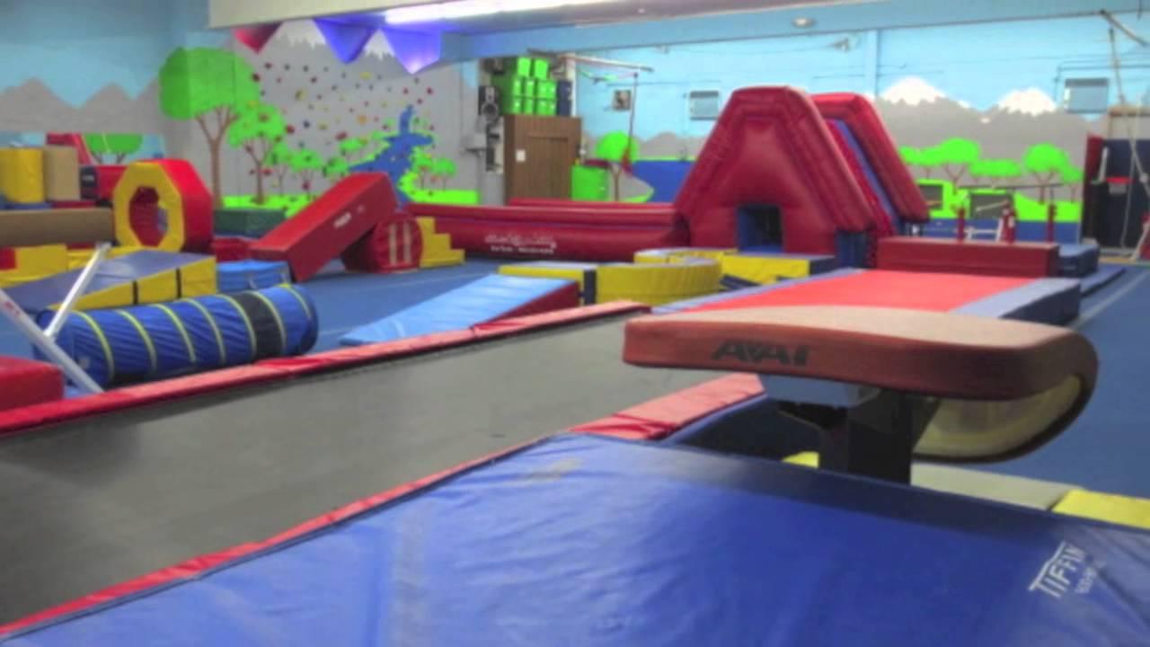 The Speed Track At Park City Gymnastics Birthday Parties