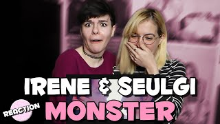 IRENE & SEULGI - MONSTER ★ MV REACTION