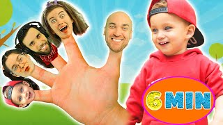 The Finger Family Songs ♫♫   Nursery Rhymes and Kids Songs    MarkLand