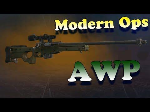 Играем С АВП в Модерн ОПС! Имба винтовка! Modern Ops - Online FPS