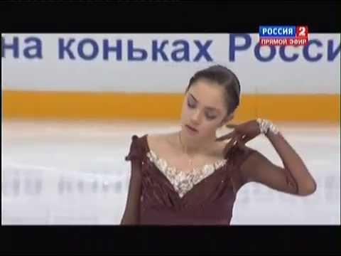 Чемпионат России по фигурному катанию 2015. FS. Евгения Медведева