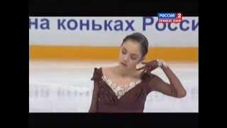 Чемпионат России по фигурному катанию 2015 FS Евгения Медведева