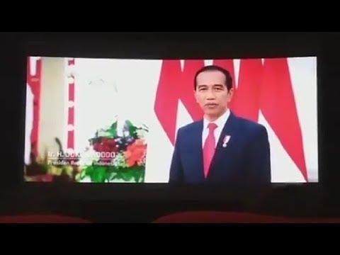 Video Iklan Kontroversial Presiden Jokowi Yang Muncul Di Bioskop, Tuai Pro-Kontra Sejumlah Tokoh