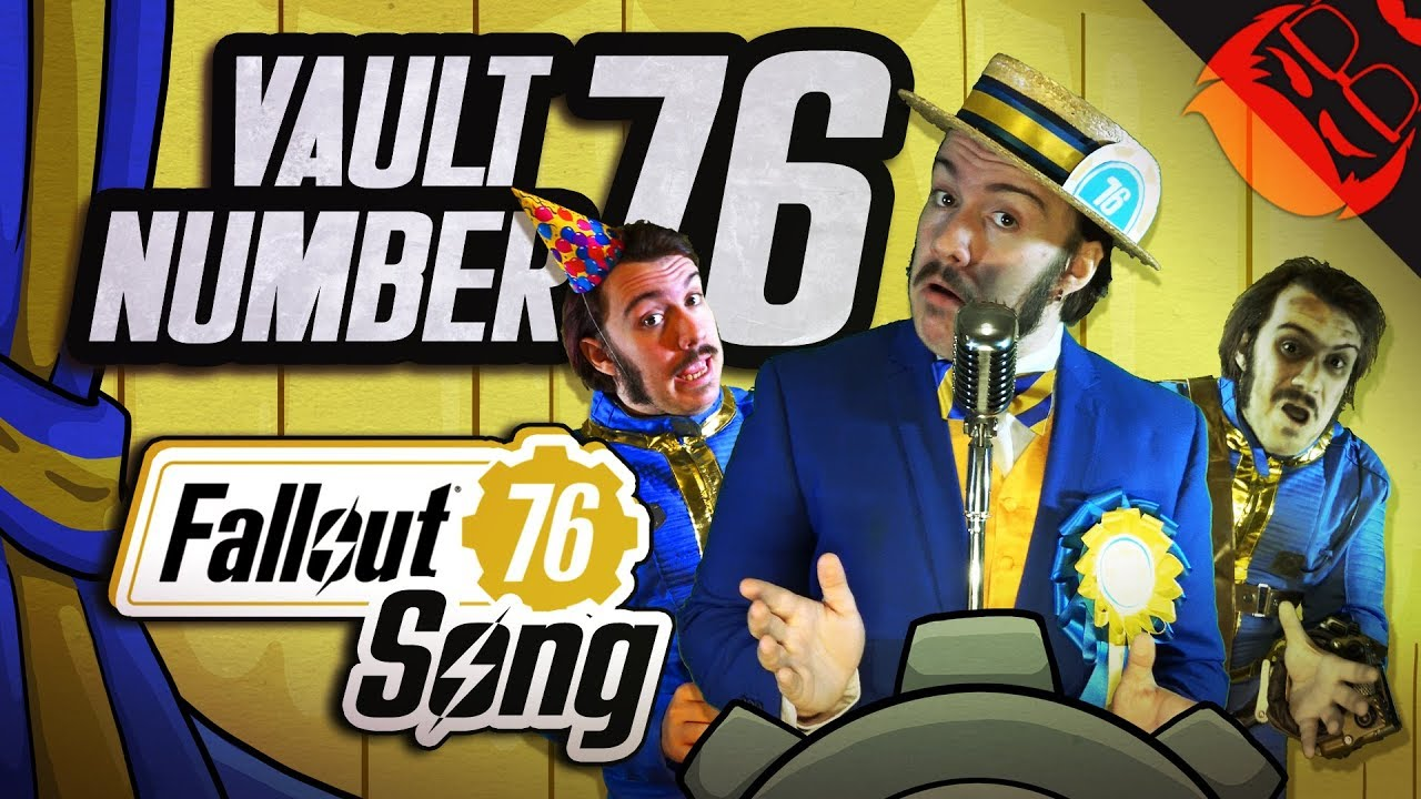 Download VAULT NUMBER 76   Fallout 76 Song