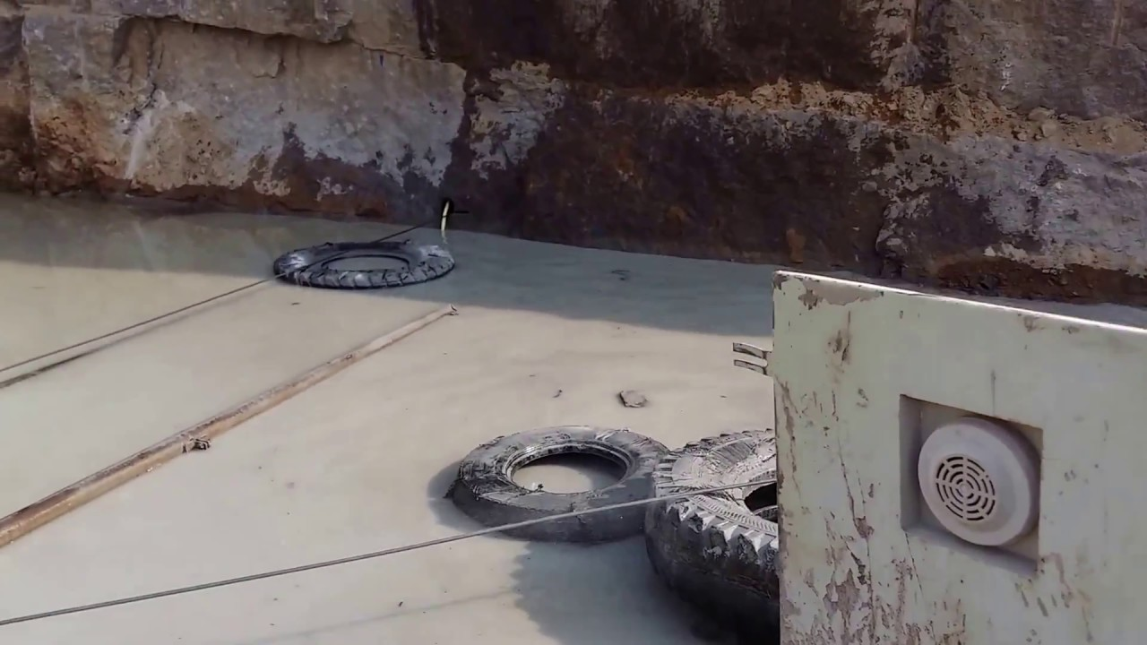 Wire saw Rope Cutting - YouTube