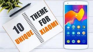 Top 10 Unique MIUI 9 Themes For All Xiaomi Phones!