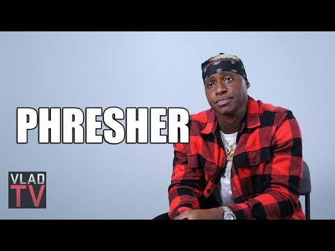 Phresher On Coming Up With Desiigner, Telling Him He Sounds Like Future (Part 3)