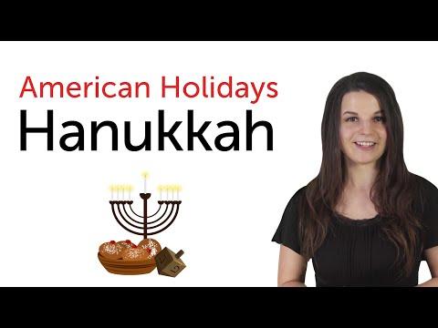 American Holidays - Hanukkah