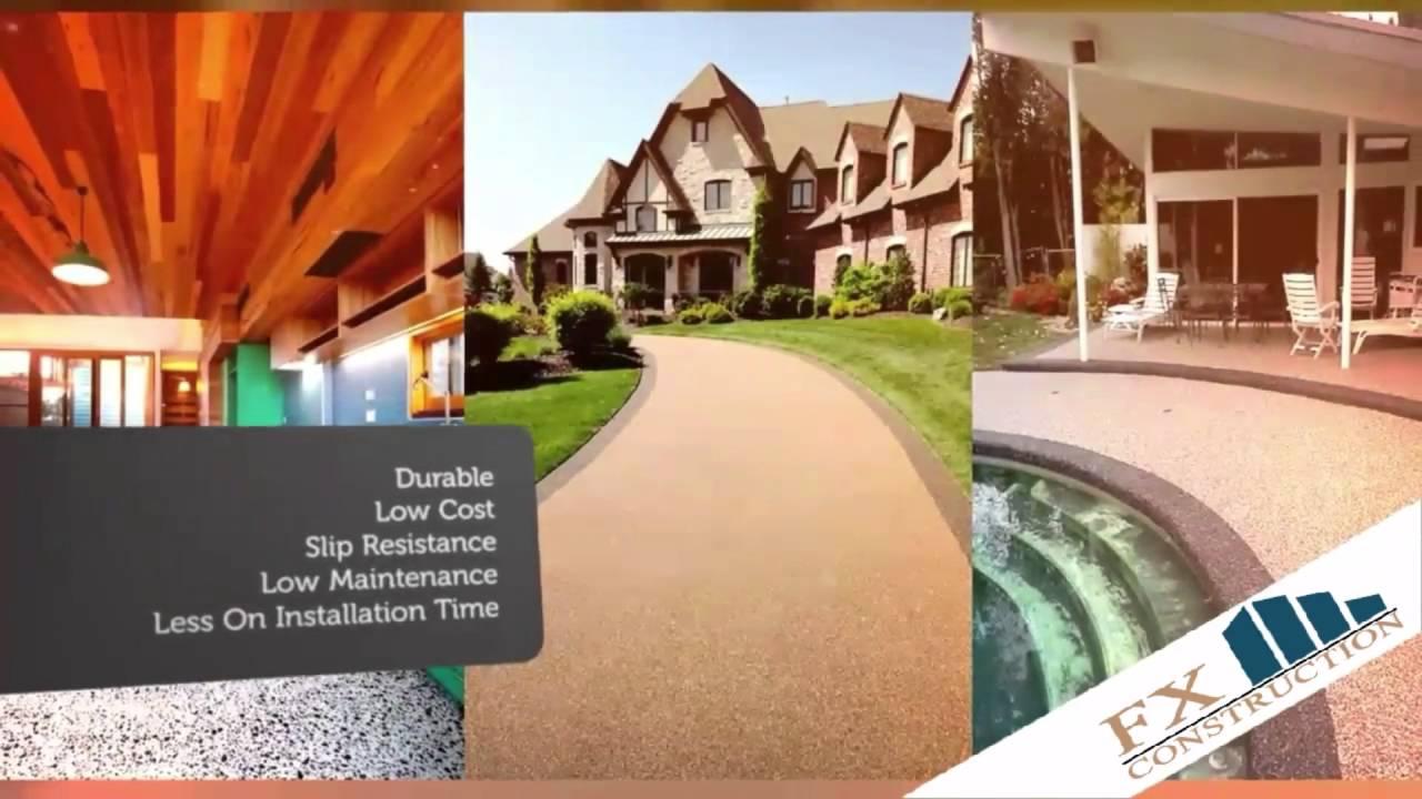 Fx Pebble Stone Flooring Solution New York Staten Island