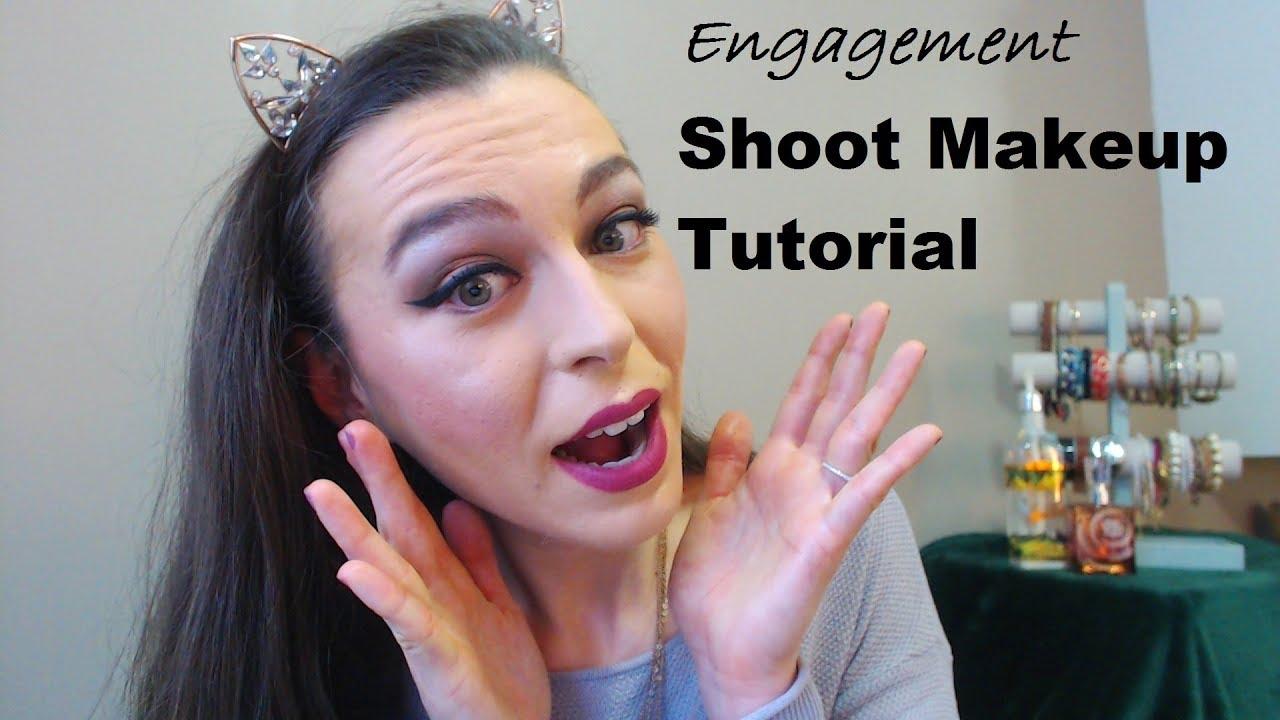 Engagement photo shoot makeup tutorial youtube engagement photo shoot makeup tutorial baditri Images