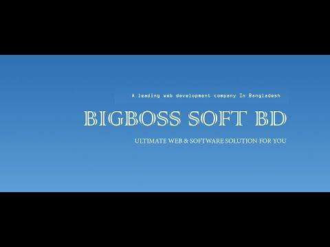 Bigboss Soft BD | A Leading Web Development Company | From Bangladesh