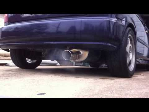 Civic Apexi WS2 exhaust with stock manifold