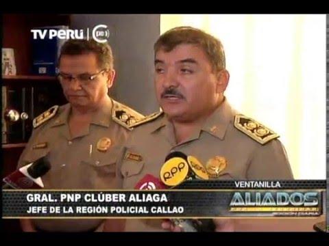 LA POLICÍA Y EL SERENAZGO DE VENTANILLA CAPTURARON A DOS SUJETOS