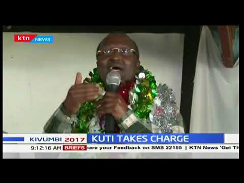 KUTI TAKES CHARGE! Isiolo governor-elect Mohammed Kuti to take oath