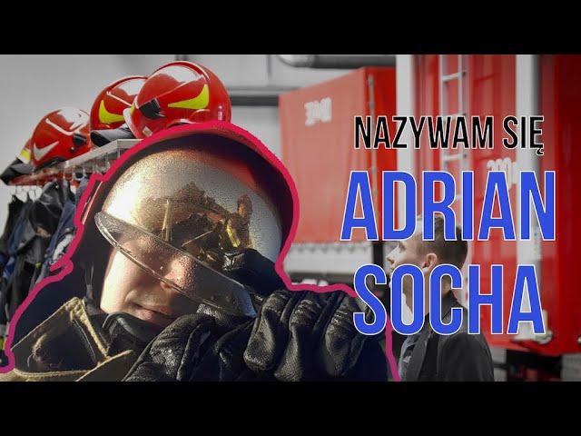 NAZYWAM SIĘ ADRIAN SOCHA