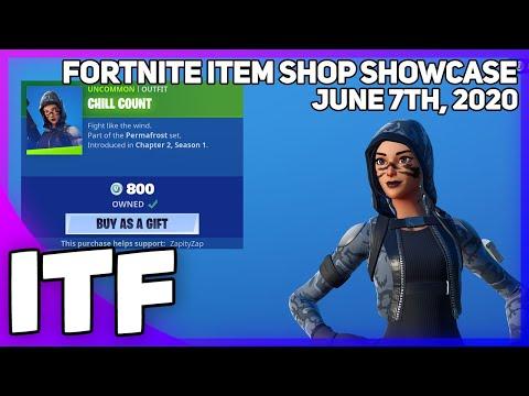 Fortnite Item Shop SNOW SNIPER SKINS ARE BACK! [June 7th, 2020] (Fortnite Battle Royale)