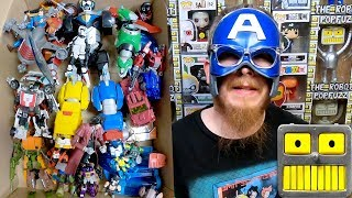 Baixar Action Figures (Mega Epic 5 Mystery Boxes full ) Star Wars Captain America  action figures haul