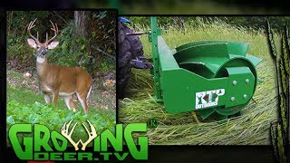 How To Plant Food Plots Easier, Cheaper, Better! (#392) @GrowingDeer.tv