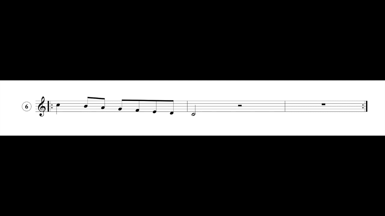 Singing Exercises: Agility Vocal Warm-Up #6 - Descending Major Scale