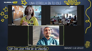 Asenjo estrena la visita virtual de 'Una estrella en tu cole'