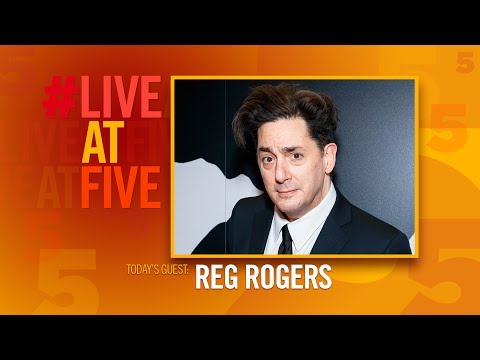 Broadway.com LiveAtFive with Reg Rogers from PRESENT LAUGHTER