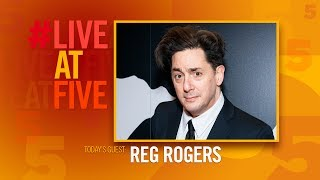 Broadway.com #LiveAtFive with Reg Rogers from PRESENT LAUGHTER