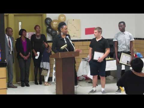WEN Sponsors Peabody MIddle School Essay - Ms. Robin Williams Announces Essay Contest Winners