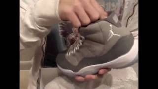 "Air Jordan XI Retro ""Cool Grey"" Review at Exit 36"