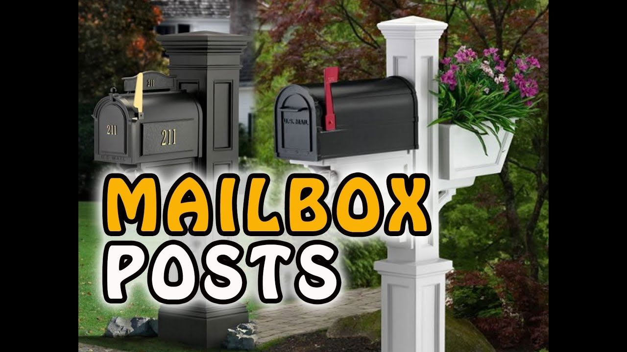 easy decorative mailbox posts low cost mailbox covers here - Decorative Mailboxes