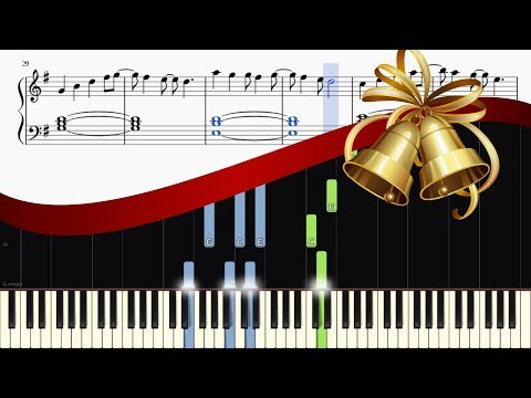 All I Want For Christmas Is You Relaxing Piano Version  EASY Tutorial + SHEETS