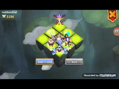Castle Clash : Beating Storm Mesa 3!!!!