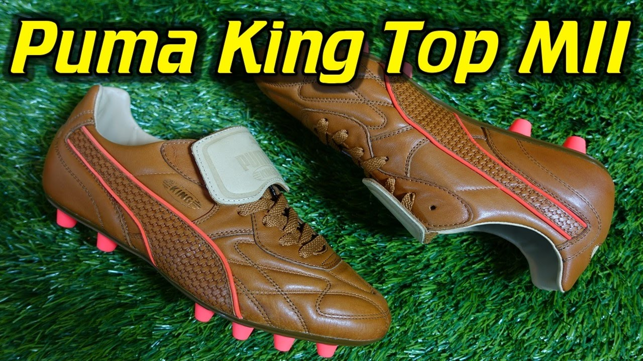 new concept ee45d 790c6 Made In Italy Puma King Top Naturale (Brown Red Blast) - Review + On Feet