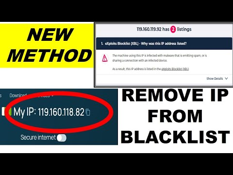 How To Remove IP Address From Blacklist | New Method