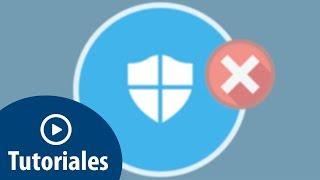 Cómo deshabilitar o desactivar Windows Defender en Windows 10