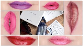 SCENT TRUNK & Urban Decay Vice Lipstick Unboxing & Swatches
