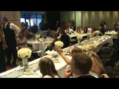Wedding party karaoke surprise