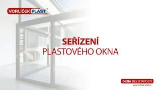 Návod na seřízení oken - VORLÍČEK - PLAST