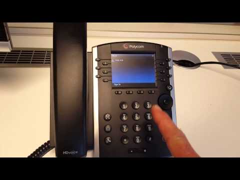 Quick start with Polycom VVX in O365 or Skype for Business Online