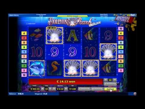 Dolphin's pearl Slot - 75 free spins!
