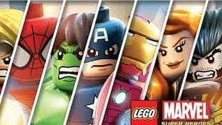 Lego Marvel Super Heroes - Full Gameplay